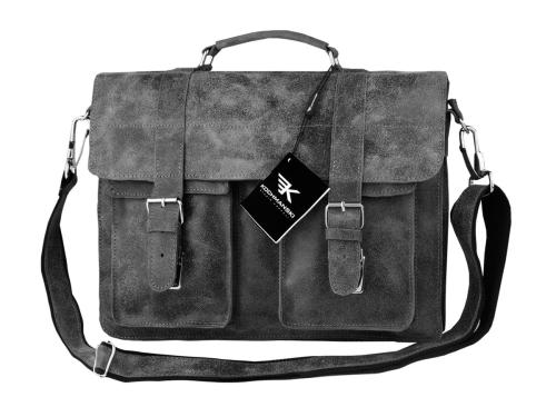 408f1708f6b66 Kochmanski torba skórzana A4 na laptop 15,6