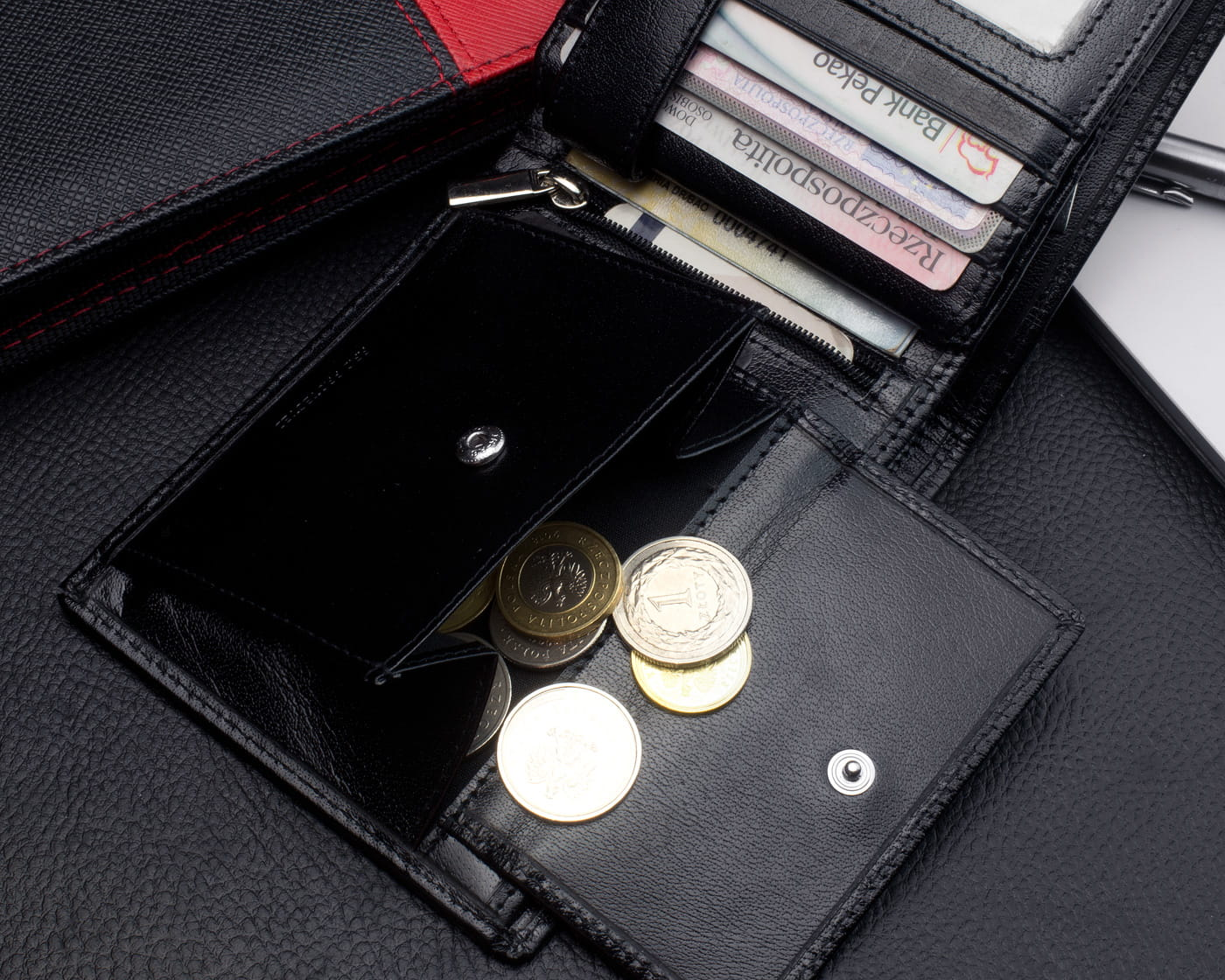 8641e6e0e9921 Kochmanski skórzany portfel męski PREMIUM 3030 Skorzany.com