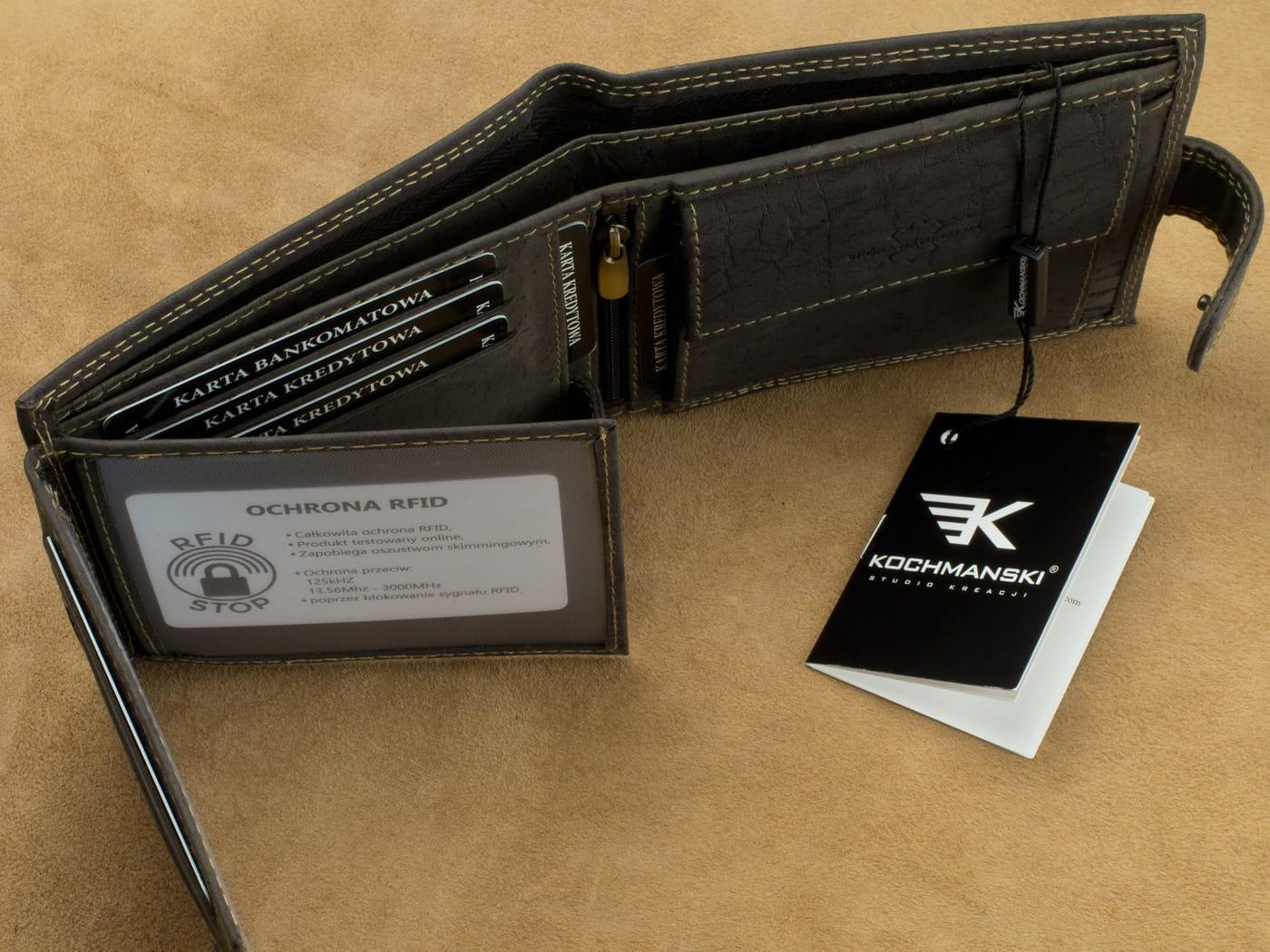 26814cfbc0697 Skórzany portfel męski Kochmanski 1016 Skorzany.com