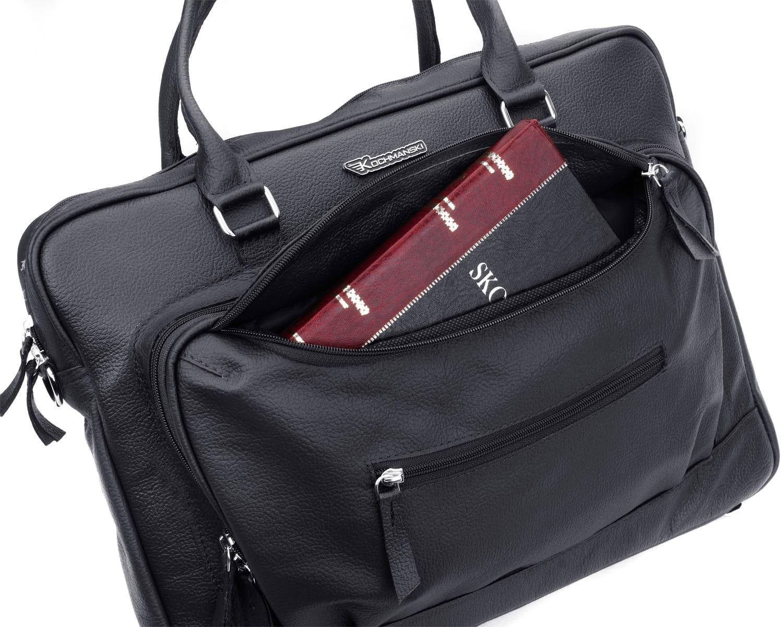 Torba na laptopa podróżna skórzana KOCHMANSKI 2103